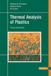 Thermal Analysis of Plastics - Theory and Practice